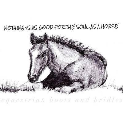 Photograph - Who Else Agrees??? by Equestrian Boots And Bridles