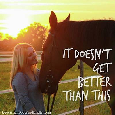 Photograph - Who Else Agrees???. . Happy Friday! by Equestrian Boots And Bridles