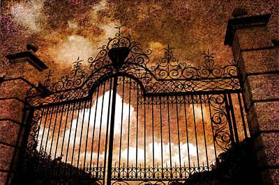 Heavens Gate Photograph - Who Is Knocking On Heavens Door by Susanne Van Hulst