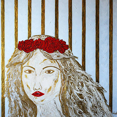 Painting - Who Is She? by Sonali Kukreja