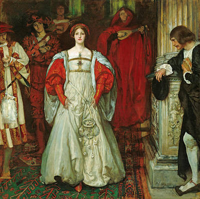 Painting - Who Is Sylvia by Edwin Austin Abbey