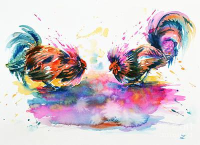 Painting - Who Is The Boss by Zaira Dzhaubaeva