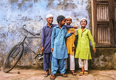 Photograph - Who Is The Most Mischievous? by Atullya N Srivastava