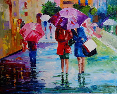 Painting - Who Loves Shopping by Valerie Curtiss
