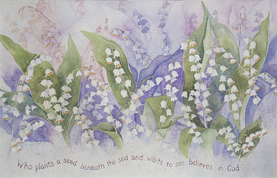 Painting - Who Plants A Seed by Lisa Vincent