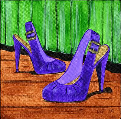Who Wears These Shoes  Art Print