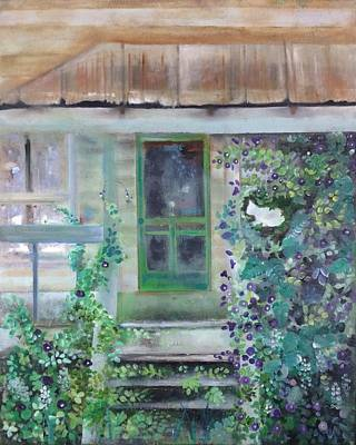 Who Will Watch The Homeplace? Art Print
