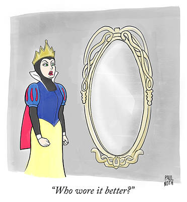 Drawing - Who Wore It Better by Paul Noth