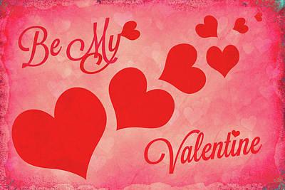 Be My Valentine Digital Art - Whole Lotta Love by Iryna Goodall