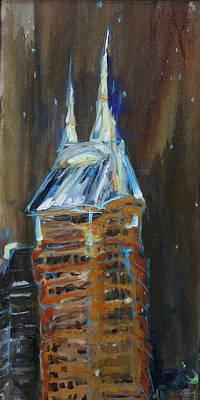 Nashville Building Painting - Whole Lotta Shakin by Wendi Strauch Mahoney