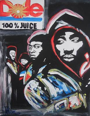 Whos Got Juice Art Print