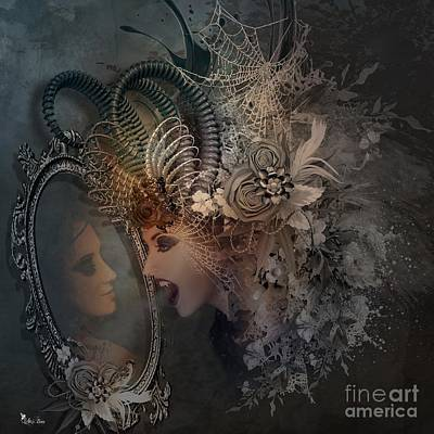 Digital Art - Whos The Fairest Of Them All by Ali Oppy