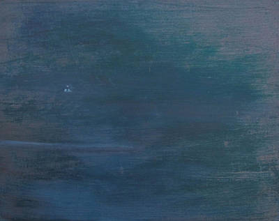 Lost At Sea Painting - Who's There by Bruce Katlin