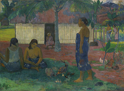 Painting - Why Are You Angry by Paul Gauguin