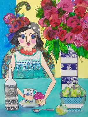Mixed Media - Why Limit Happy To A Hour by Rosemary Aubut