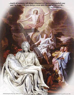 Pieta Digital Art - Why? by Mary Stanford