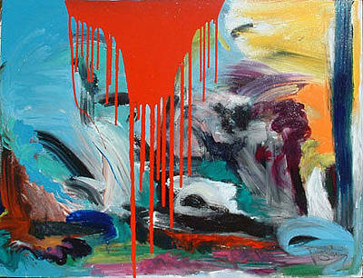 Painting - Why Must We Argue by Banning Lary