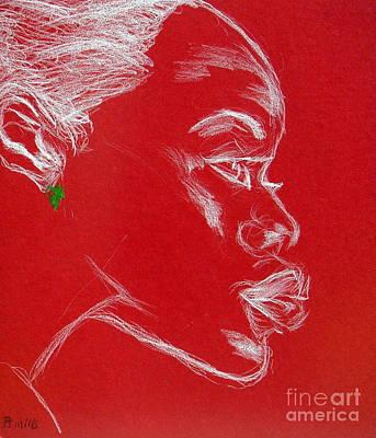 Why Profile Art Print