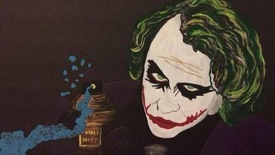 Painting - Why So Serious by Surbhi Grover