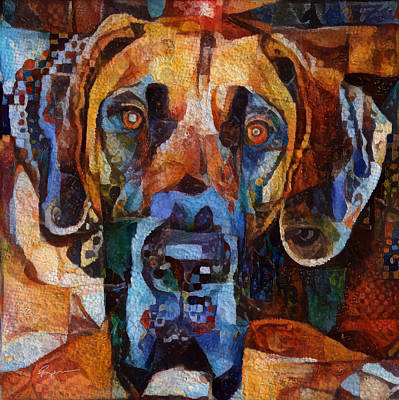 Purebred Digital Art - Why The Long Face? by Anthony Ross