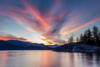 Photograph - Whytecliff Park Sky by Pierre Leclerc Photography
