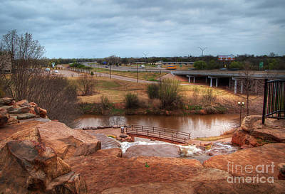 Photograph - Wichita Falls View by Fred Lassmann