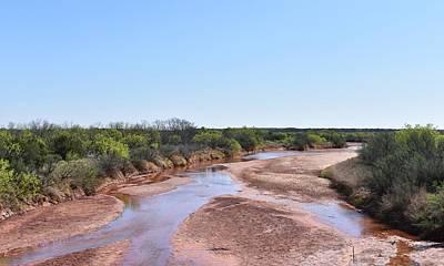 Photograph - Wichita River Texas by rd Erickson
