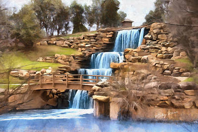 Painting - Wichita Falls by Ricky Dean