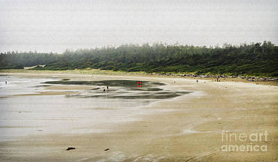 Photograph - Wickannish Beach On A Rainy Summer Afternoon by Maria Janicki
