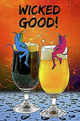 Digital Art - Wicked Good by John Haldane