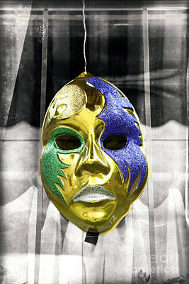 Photograph - Wicked Mask Fusion by John Rizzuto