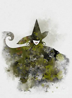 Mixed Media - Wicked by Rebecca Jenkins