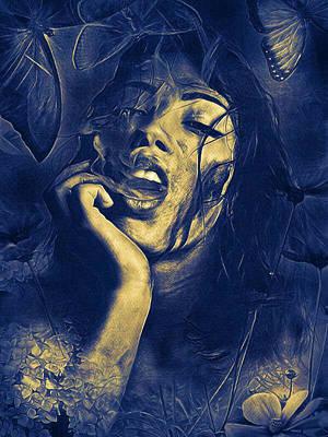 Digital Art - Wicked by Rhonda Barrett
