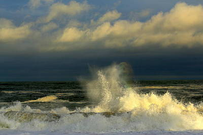 Photograph - Wicked Waves 2 by Suzanne DeGeorge