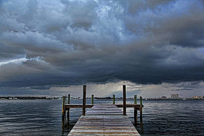 Weathered Photograph - Wicked Weather by HH Photography of Florida