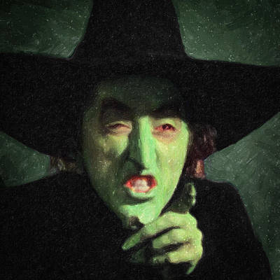 Fantasy Royalty-Free and Rights-Managed Images - Wicked Witch of the East by Zapista OU