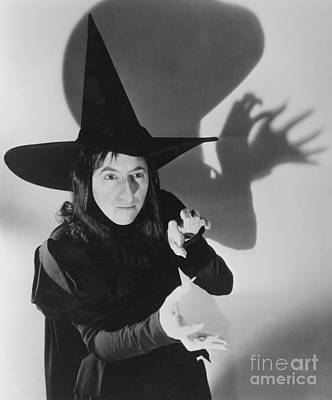 Portrait Of Woman Photograph - Wicked Witch Of The West by Granger