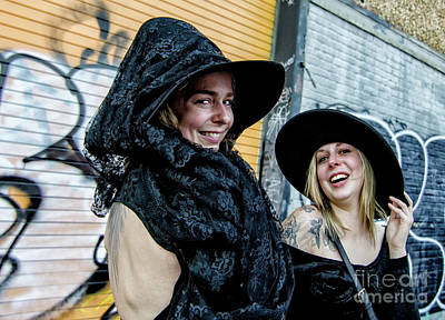 Photograph - Wicked Witches At Boo Parade Nola by Kathleen K Parker