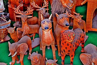 Wicker Animals. Madeira. Pleasing Memory.  Original by Andy Za