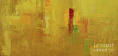 Painting - Wide Abstract D by Becky Kim