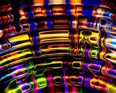Multicolored Digital Art - Wide Awake by Robert Orinski