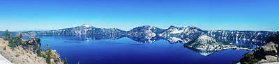 Photograph - Wide Crater Lake by Jonny D