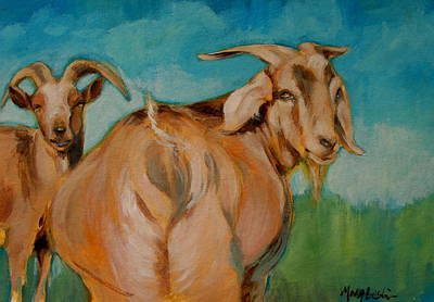 Wide Load Art Print by Mary Leslie