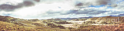 Landscapes Royalty-Free and Rights-Managed Images - Wide Open Country Australia by Jorgo Photography - Wall Art Gallery