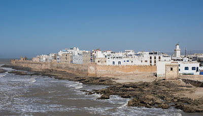 Moroccan Photograph - Wide View Of The Old Part Of Essaouira by Panoramic Images