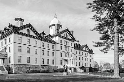 Old Main Photograph - Widener University Old Main by University Icons