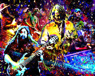 Widespread Panic Art Art Print