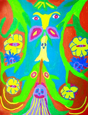 Widgets Art Print by Betty  Roberts