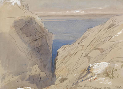 Drawing - Wied Zurrik by Edward Lear