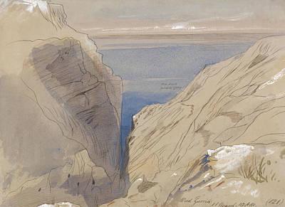Drawing - Wied Zurrik by Edward Lear